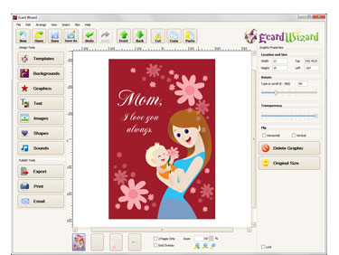Ecard wizard premium greeting card making software greeting cards m4hsunfo
