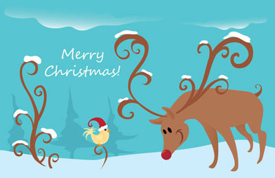 New christmas greeting card templates ecard wizard you can also view more samples of our christmas greeting cards in our greeting cards gallery m4hsunfo