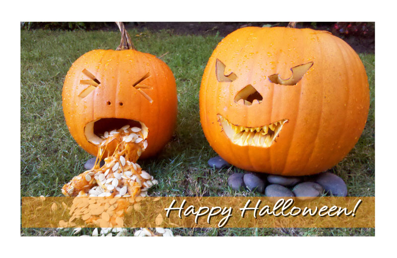 Happy Halloween! Hope Everyone Is Having A Wonderful Day And Getting Ready  For Some Trick Or Treating. Stay Safe! Here Is A Halloween Greeting Card We  Made ...